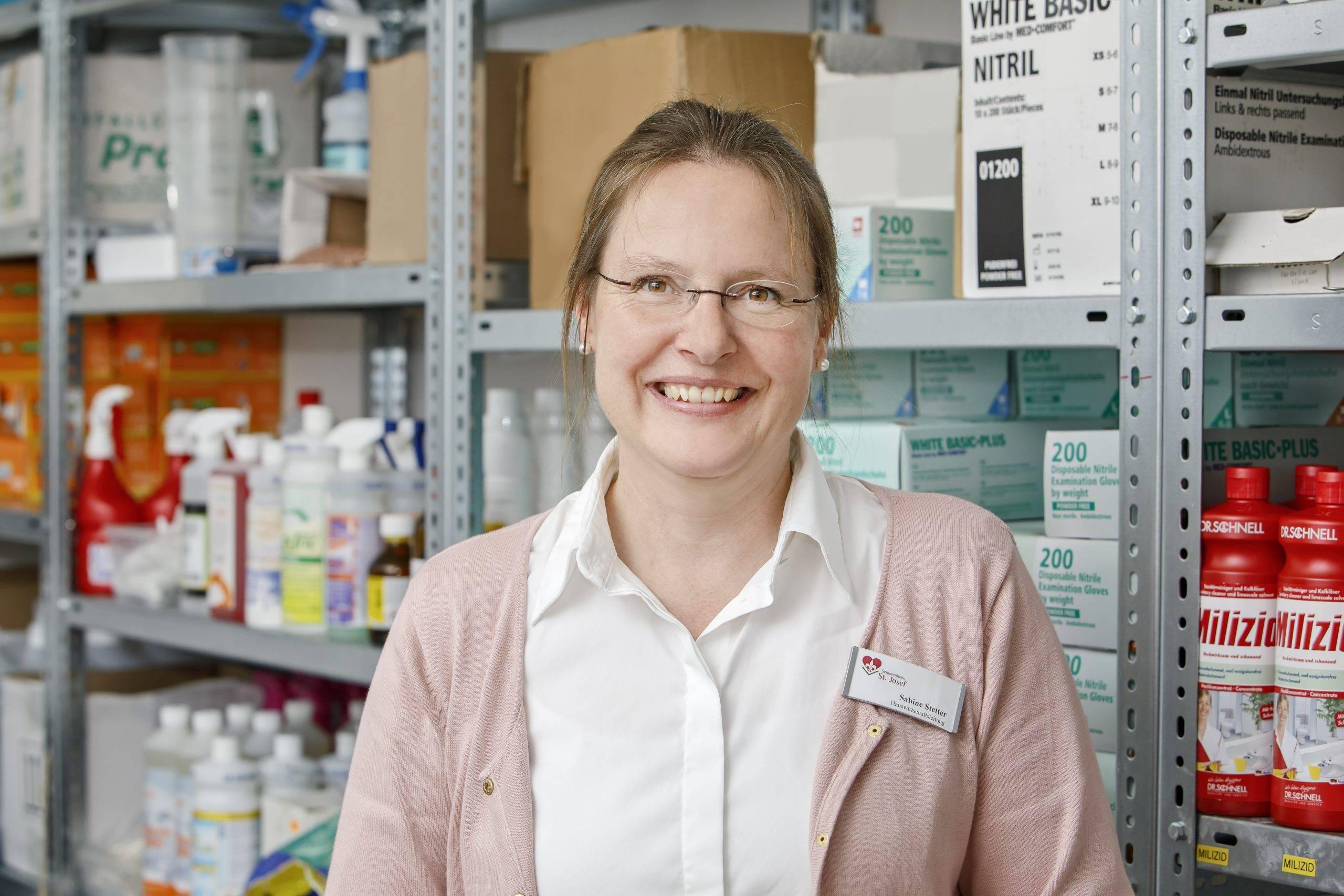 Sabine Stetter Leitung Hauswirtschaft